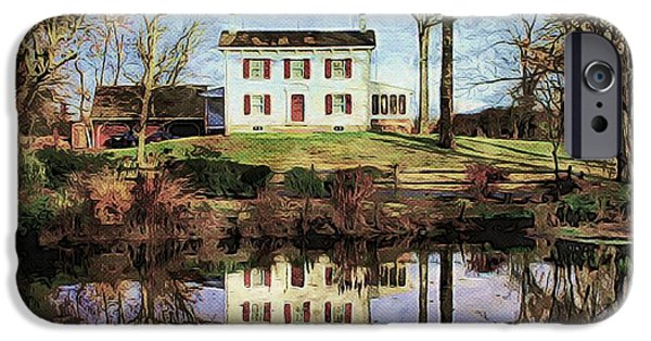 White House iPhone Cases - Country Living iPhone Case by Marcia Lee Jones