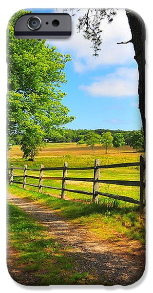 Country Road iPhone Case by Catherine Reusch  Daley