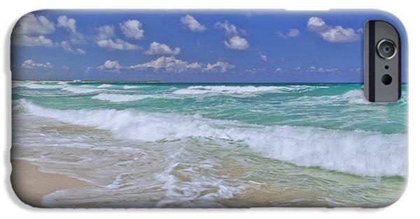 Beach Landscape iPhone Cases - Cozumel Paradise iPhone Case by Chad Dutson