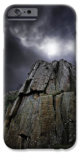 crags iPhone Case by Meirion Matthias