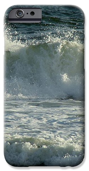 Crashing Wave iPhone Case by Sandy Keeton