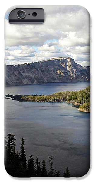 Crater Lake - Intense blue waters and spectacular views iPhone Case by Christine Till