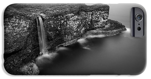 Dave iPhone Cases - Crawton Cliffs iPhone Case by Dave Bowman