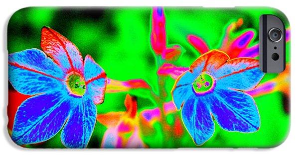 Colorful Abstract iPhone Cases - Crazy Abstract Beauty by Earls Photography iPhone Case by Earl  Eells a
