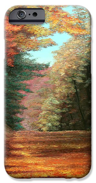 Cressman's Woods iPhone Case by Otto Werner