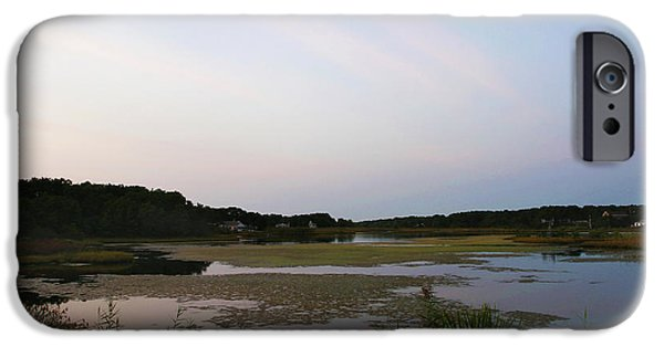 Michelle iPhone Cases - Crowell Pond South Yarmouth Cape Cod Massachusetts iPhone Case by Michelle Wiarda