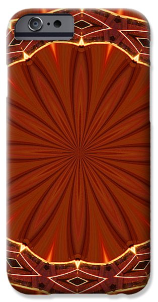Crown of Thorns iPhone Case by Kristin Elmquist