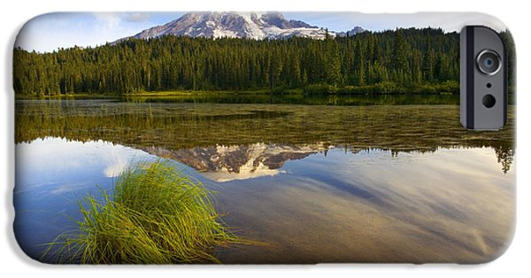 Reflection Lake iPhone Cases - Crystal Clear iPhone Case by Mike  Dawson