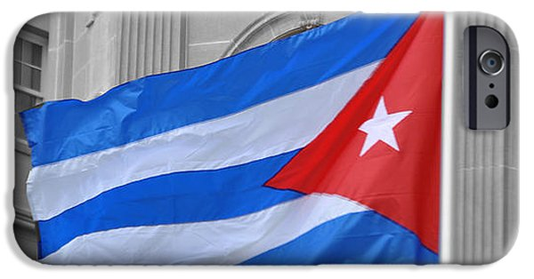 Police Officer iPhone Cases - Cuban Flag iPhone Case by Jost Houk
