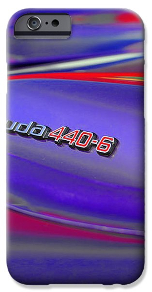 'Cuda 440-6 iPhone Case by Gordon Dean II