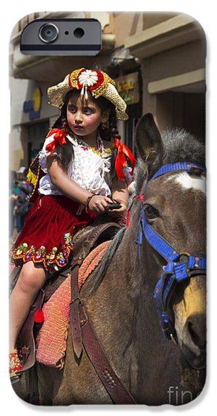 Innocence iPhone Cases - Cuenca Kids 643 iPhone Case by Al Bourassa