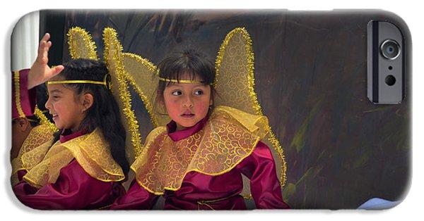 Innocence iPhone Cases - Cuenca Kids 645 iPhone Case by Al Bourassa