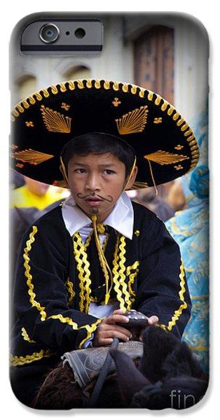 Innocence iPhone Cases - Cuenca Kids 670 iPhone Case by Al Bourassa