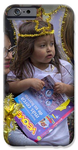 Innocence iPhone Cases - Cuenca Kids 675 iPhone Case by Al Bourassa