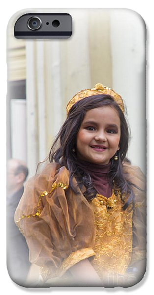 Innocence iPhone Cases - Cuenca Kids 678 iPhone Case by Al Bourassa