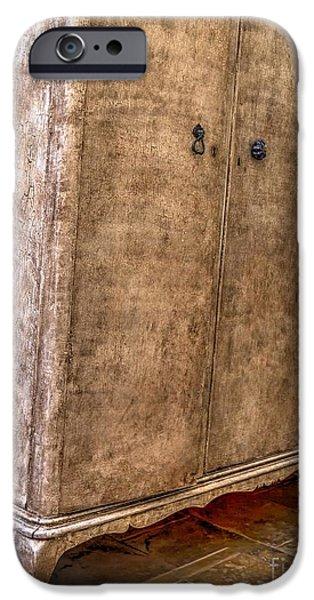 Furniture iPhone Cases - Cupboard Love iPhone Case by Gillian Singleton