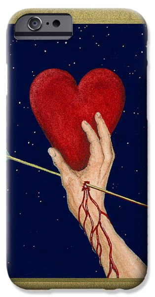 Cupids Arrow iPhone Case by Charles Harden