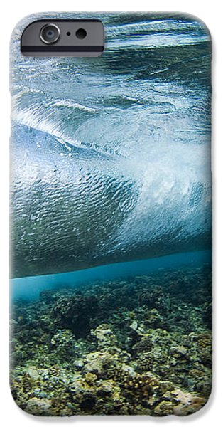 Curl of Wave from Underwater iPhone Case by Dave Fleetham - Printscapes