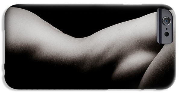 Provocative Photographs iPhone Cases - Curves iPhone Case by Jt PhotoDesign