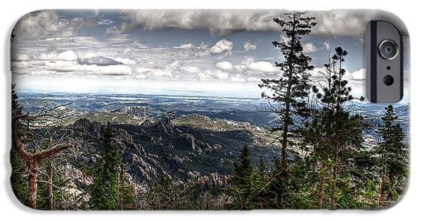 Pines iPhone Cases - Custer State Park  iPhone Case by Deborah Klubertanz