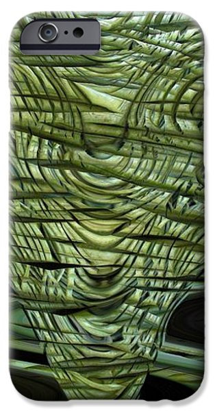 Cut Green Beans iPhone Case by Ron Bissett