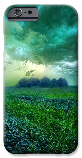 Recently Sold -  - Field. Cloud iPhone Cases - Cutting Loose iPhone Case by Phil Koch