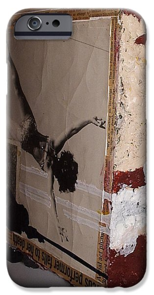Disorder Mixed Media iPhone Cases - Cyclops iPhone Case by William Douglas