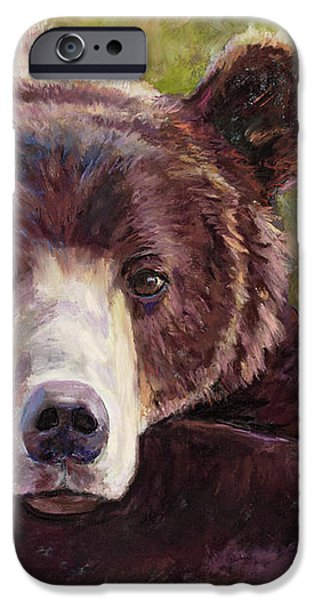 Da Bear iPhone Case by Billie Colson