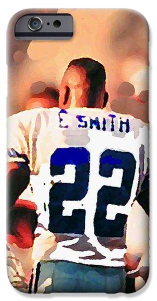 Dallas Cowboys Triplets iPhone Case by Paul Van Scott