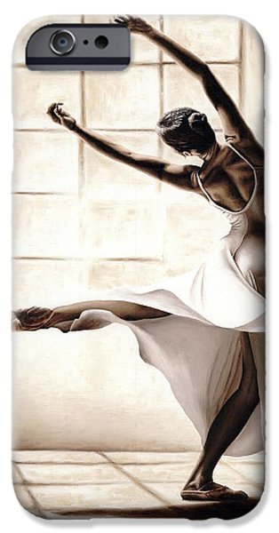 Dancers iPhone Cases - Dance Finesse iPhone Case by Richard Young