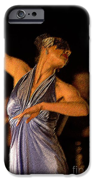 Ballet Dancers iPhone Cases - Dance me to end of Love iPhone Case by David Bearden
