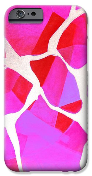 Nature Abstract iPhone Cases - Dancing in the Woods 2.0 iPhone Case by Giro  Tavitian