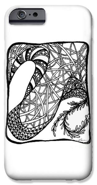 One iPhone Cases - Dancing Shoes iPhone Case by Nan Wright