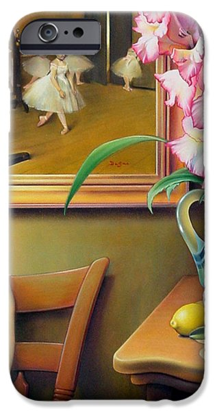 Gladioli iPhone Cases - Dancing with Glads iPhone Case by Patrick Anthony Pierson