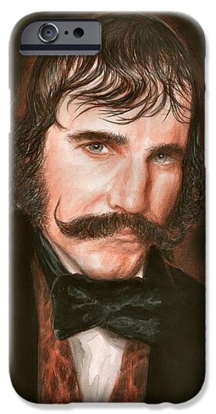 Daniel iPhone Cases - Daniel Day iPhone Case by Bruce Lennon