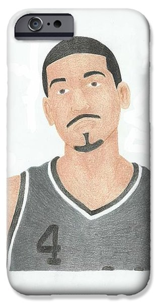 Danny Green iPhone Case by Toni Jaso