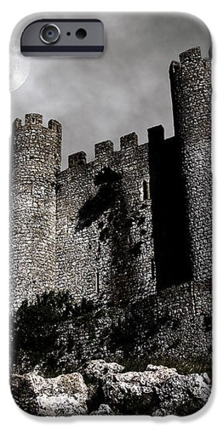 Dark Castle iPhone Case by Carlos Caetano