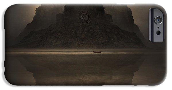 Ruin iPhone Cases - Dark Companion iPhone Case by Michal Karcz