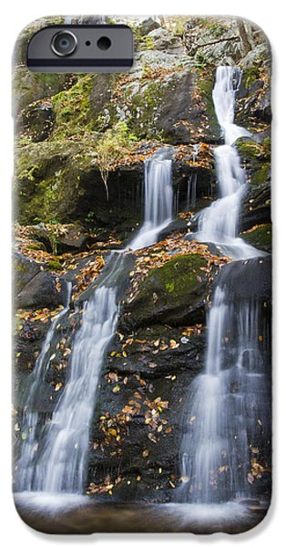 Scenic Drive iPhone Cases - Dark Hollow Falls Shenandoah National Park iPhone Case by Pierre Leclerc Photography