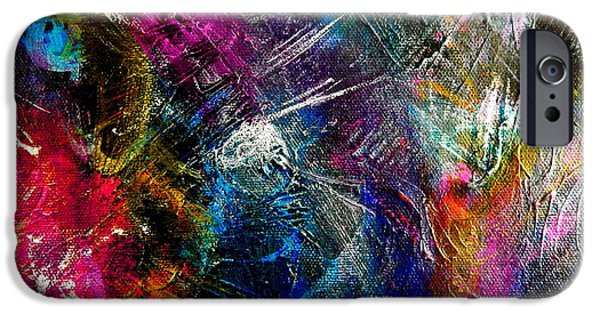 Drama iPhone Cases - Dark light iPhone Case by Expressionistar Priscilla-Batzell