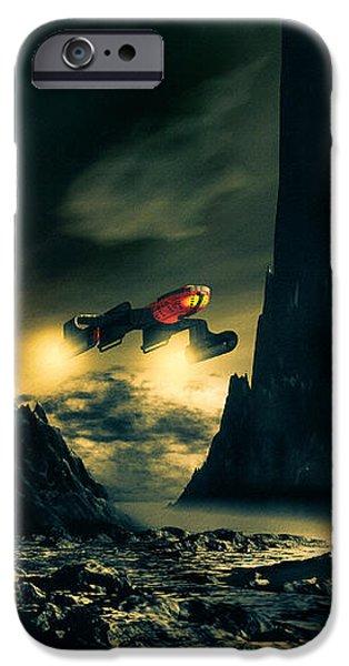 Dark Planet iPhone Case by Bob Orsillo