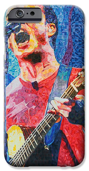 Musician iPhone Cases - Dave Matthews Squared iPhone Case by Joshua Morton