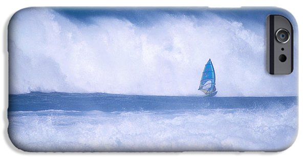 Turbulent Skies iPhone Cases - Dave Nash At HoOkipa iPhone Case by Erik Aeder - Printscapes