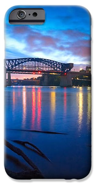 Dawn Along The River iPhone Case by Steven Llorca