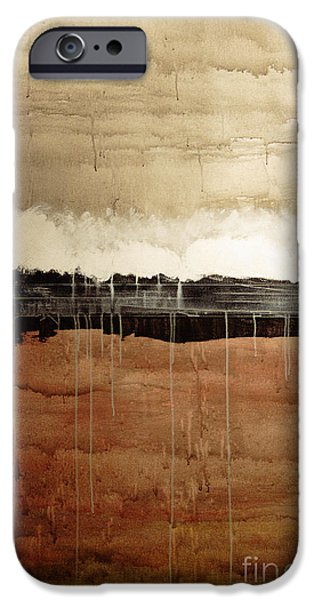 Merging Paintings iPhone Cases - Dawn iPhone Case by Brian Drake - Printscapes