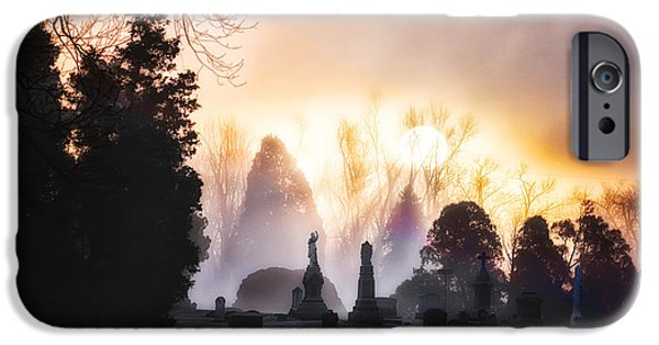Morning iPhone Cases - Dawn of the Dead iPhone Case by Randall Wilkerson