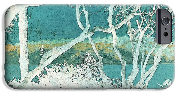 Sand Dunes Mixed Media iPhone Cases - Daydream iPhone Case by Bonnie Bruno