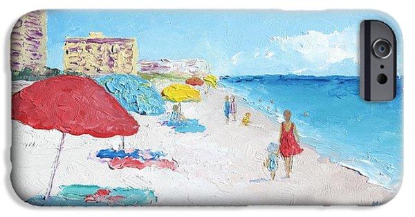 House Art iPhone Cases - Daytona Beach iPhone Case by Jan Matson