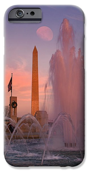 Recently Sold -  - President iPhone Cases - DC Sunset iPhone Case by Betsy A  Cutler