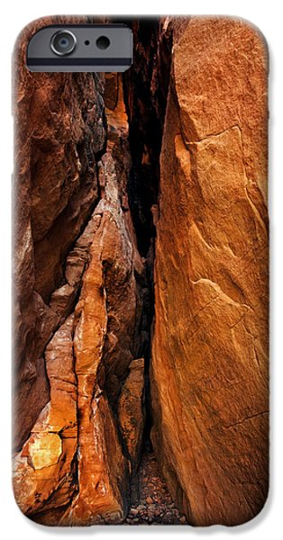 Sedona Photographs iPhone Cases - Dead End iPhone Case by Mike  Dawson